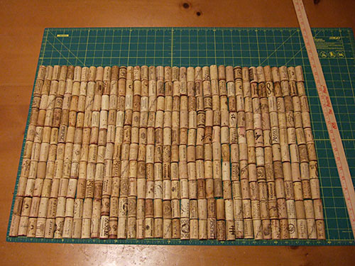 diy cork bath mat 4