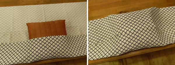 Εύκολη DIY θήκη για μαξιλάρια - 3