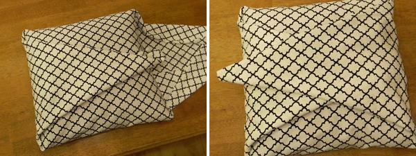 Εύκολη DIY θήκη για μαξιλάρια - 5