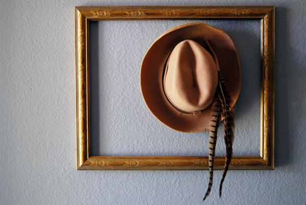 Διακόσμηση με ψάθινα καπέλα - 2