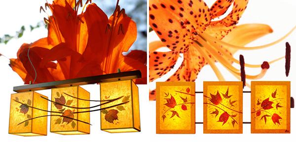 Σειρά φωτιστικών Floral Chic