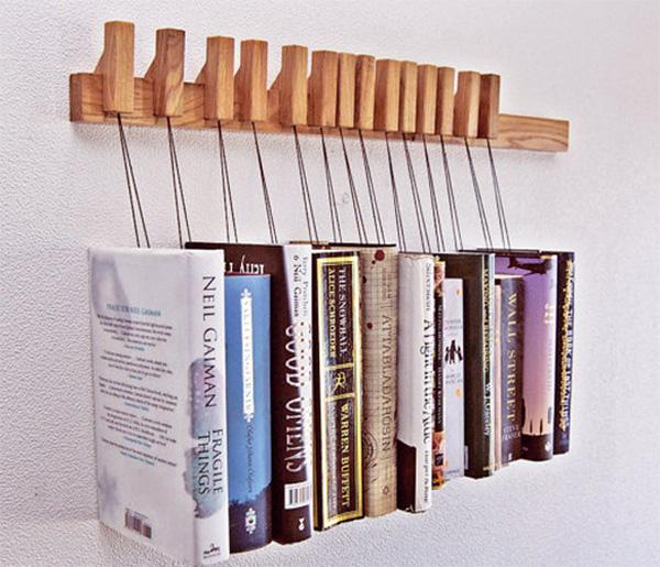 Κρεμάστρα για βιβλία