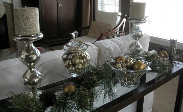 Γυάλες και βάζα με χριστουγεννιάτικο ντεκόρ 5