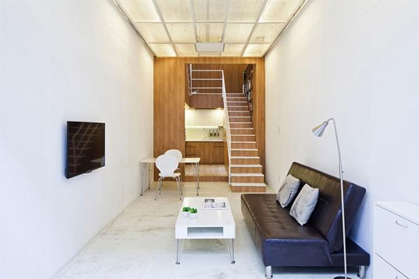 διαρρύθμιση μικρού σπιτιού