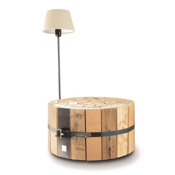 DIY ξύλινο τραπεζάκι σαλονιού