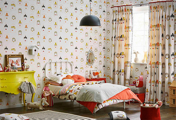 Κουρτίνες παιδικού δωματίου
