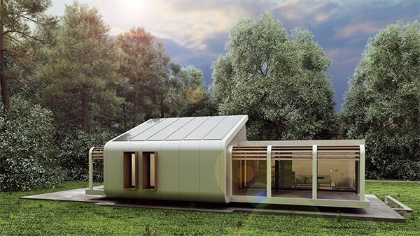 modular, prefab οικολογικό σπίτι