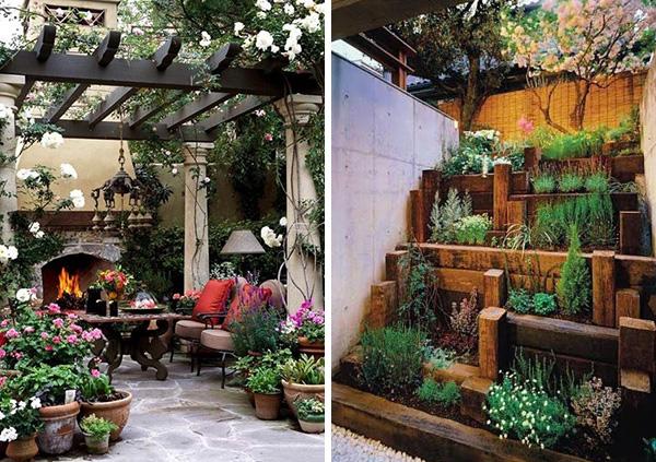 Ιδέες για μικρούς, φιλόξενους κήπους 3